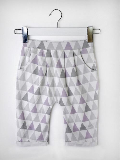 PYJAMA SHORTS  |  TRIANGLES