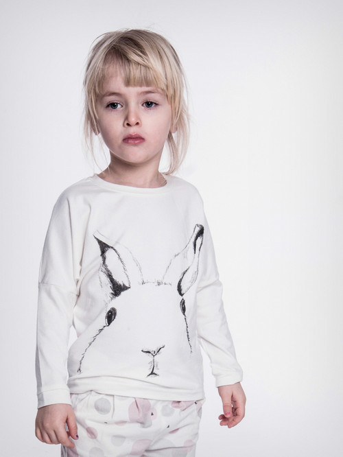 LONG SLEEVE TOP  |  BUNNY