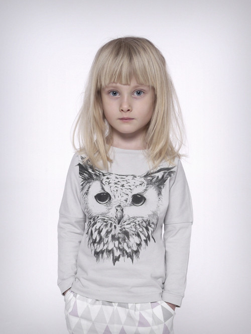 LONG SLEEVE TOP  |  OWL