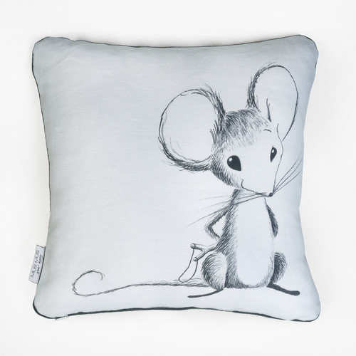 LINEN DECORATIVE PILLOW | MOUSE